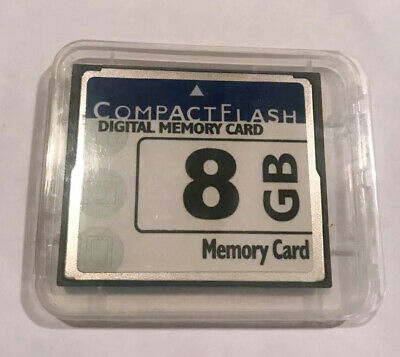 Kingston 8GB 133X High Speed Compact Flash CF Memory Card Brand NEW
