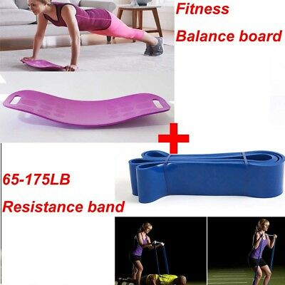 AU!Fitness Balance Board Sport Workout Board Trainer Gym Exercise Yoga Personal