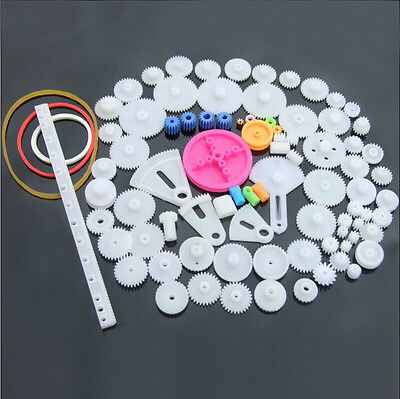 plastic gear package 85 kinds of motor gear gearbox robot model 0.5 modulus DIY