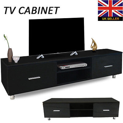 140cm High Gloss Modern Lacquer TV Cabinet Unit Stand Lowboard Entertainment