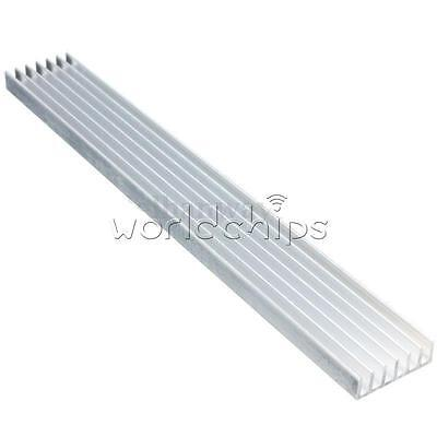 150x20x6mm Long Heatsink Aluminum Heat Sink for LED Power Amplifier PCB