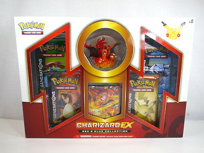 Pokémon Trading Card Red & Blue Collection Charizard-EX