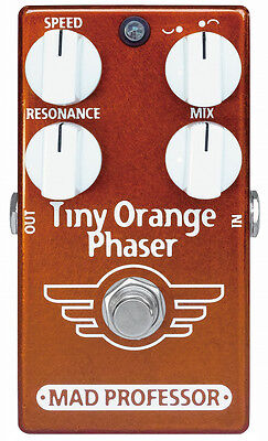 Mad Professor Tiny Orange Phaser (Factory Made)