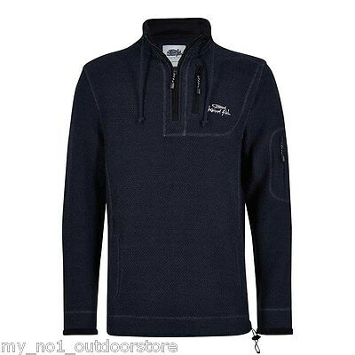 Weird Fish Men's Parkway Deluxe Tech Macaroni Sweatshirt - Carbon