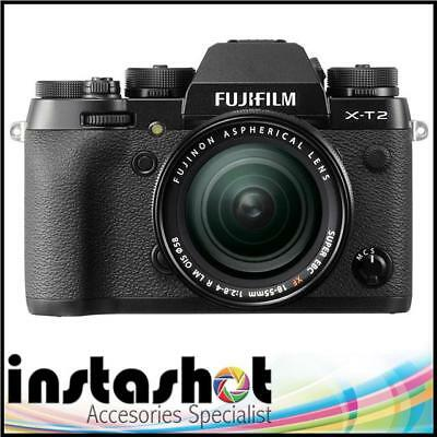 Fujifilm X-T2 Mirrorless Digital Camera with 18-55mm Lens - 3 Year Warranty