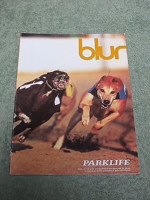 BLUR Parklife ~ Piano Vocal Guitar ~ SONG BOOK!