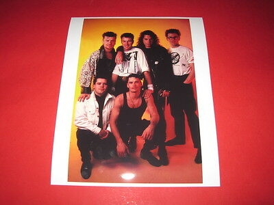 MICHAEL HUTCHENCE OF INXS  10x8 inch lab-printed photo P/8160