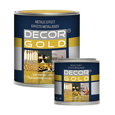 Goldlack Decor Lack Antikgold Metallglanzlack neu