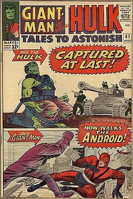 Tales To Astonish #61 - VF+ - Savannah Collection