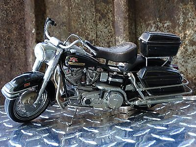 Franklin Mint Harley Davidson 1976 Electra Glide 1:10 Scale Diecast Motorcycle