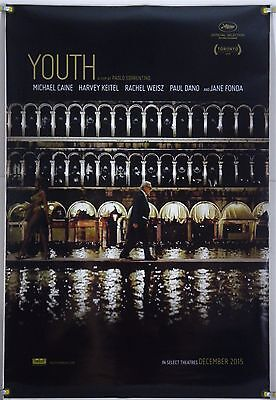 Youth Ds Rolled Adv Orig 1Sh Movie Poster Michael Caine Harvey Keitel (2015)