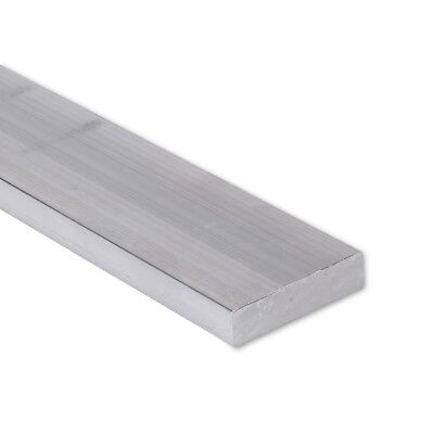 "3/4"" x 1-1/2"" Aluminum Flat Bar, 6061 Plate, 8"" Length, T6511 Mill Stock, 0.75"""