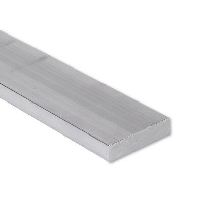 "3/4"" x 1-1/2"" Aluminum Flat Bar, 6061 Plate, 24"" Length, T6511 Mill Stock, 0.75"""