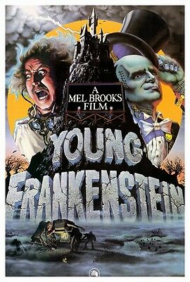 """YOUNG FRANKENSTEIN (1974) Movie Poster [Licensed-New-USA] Theater Size 27x40"""""""