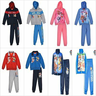 Paw Patrol Tracksuit Jogging Set Jacket Clothing Set Outfit Age 2-6Y Official