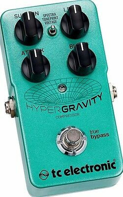 TC Electronic HyperGravity Compressor Guitar Pedal w/ True Bypass NEW!! #32643
