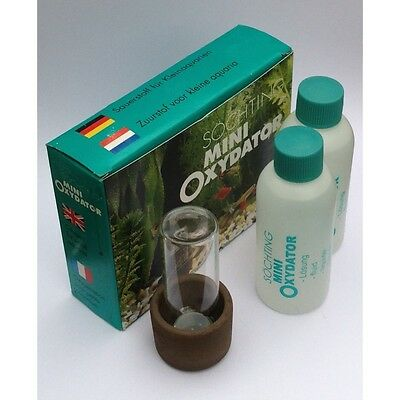 Oxydator mini increase O2 in aquariums used in fish breeding, reef tanks