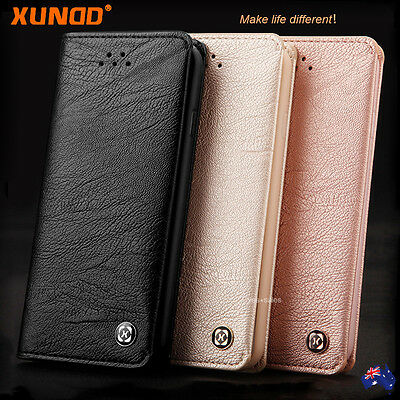 Genuine XUNDD NEW Leather Wallet Card Holder Case Cover for iPhone XS 8 7 6s SE