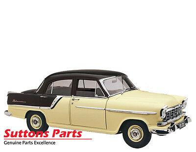 New Authentic Holden Fc Special Black / Ivory Diecast Model 1: 18 Part 43-18568