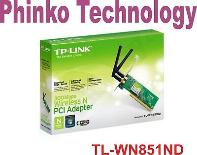 Brand NEW TP-Link TL-WN851ND 300M Wireless N PCI Adapter