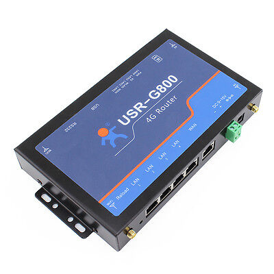 USR-G800-42 Industrial 4G Wireless Router,Support WiFi Network