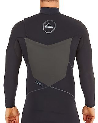 NEW QUIKSILVER™  Mens AG47 Performance 4/3MM Chest Zip Steamer Wetsuit Surf