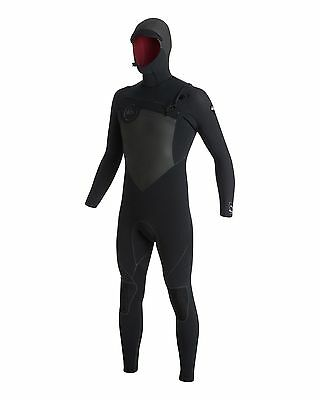 NEW QUIKSILVER™  Mens AG47 Performance 4/3mm Hooded Steamer Wetsuit Surf