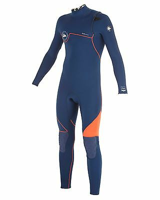 NEW QUIKSILVER™  Boys 8-16 AG47 3/2MM Ziperless Steamer Wetsuit Boys Teens Ski