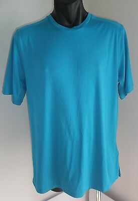Nike Running Dri-Fit Men's Blue Shirt T-Shirt Size Xl