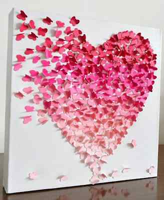 A Valentine Special! 3X BUTTERFLY CRAFT PAPER PUNCHES +BONUS Large Punch FREE!!!
