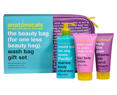 Anatomicals The Beauty Bag 3-Piece Gift Set