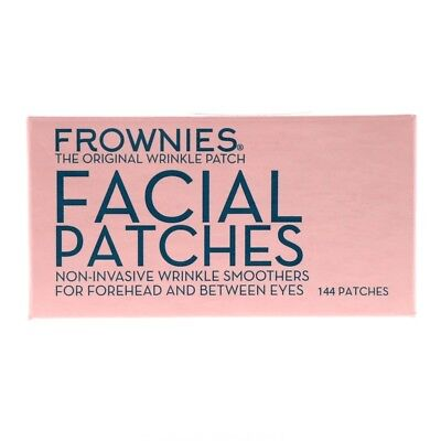 Frownies Facial Patches For Wrinkles on Foreheads, Eyes 144 patches