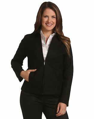 New Ladies Womens Flinders Wool Blend Business Work Casual Jacket