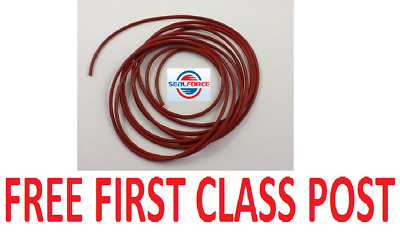 Silicone 60 Shore O-Ring Cord 1.5MM Diameter. Buy Any Length From 1 Metre