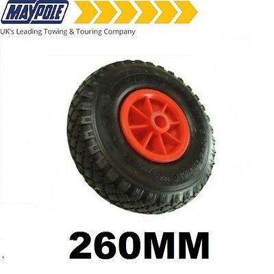 MAYPOLE 260MM Pneumatic Jockey Wheel + Tyre - MP229