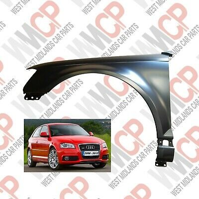 AUDI A3 2008 - 2012 Front Wing Left NS Nearside Passengers Side 8P0821105E