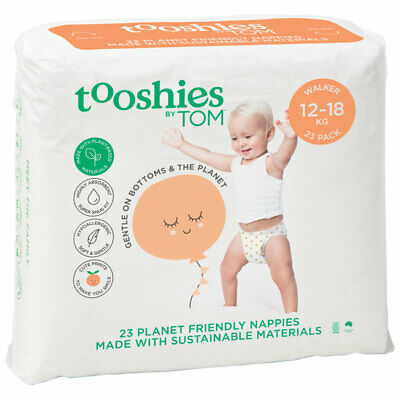 Tooshies by TOM Organic Nappies Walker 23 Pack
