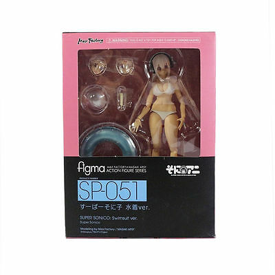 Anime Max Factory Figma Super Sonico Swimsuit Ver SP-051 Action Figure NIB
