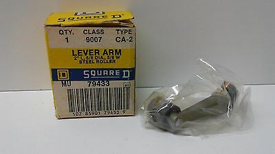 """New Old Stock! Square D 2"""" L 5/8 Dia 5/8 W Steel Roller Arm 9007-Ca-2"""