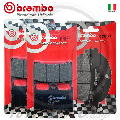 Pasticche Ant 07077+07059 BREMBO CC YAMAHA XP T-MAX ABS 500 2010-2011 + Post
