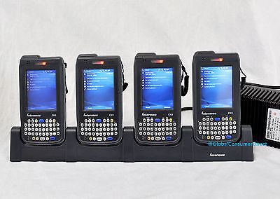 Lot of 4x Intermec CN3 Mobile Computer 1D/2D Barcode Scanner +CRADLE +Warranty