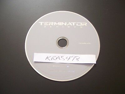 Terminator Genisys (DVD, 2015) - PERFECT NO SCRATCHES - DISC ONLY - NO BOX OR CO