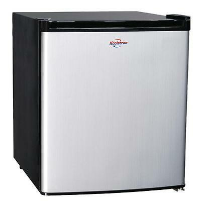 Koolatron 1.7 cu. ft. Mini Refrigerator in Stainless Look