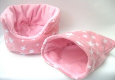 COZY PETS guinea pig bed snuggle pouch cuddle cup sack hedgehog sleeping bag10""