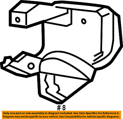 ford oem front door lock latch kit 6c3z2521813a 59 36 picclick Front Door Commercial Diagram ford oem front door door lock kit 6c3z2521813a