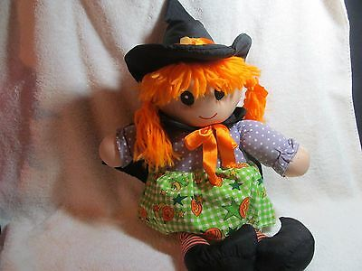Halloween Decoration Witch Doll For Decoration Or Childs Toy