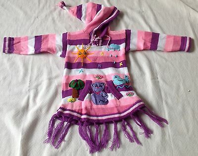 89ad1a2c28cde HAND KNITTED ALPACA Wool Children Sweaters with 3D designs -  29.00 ...