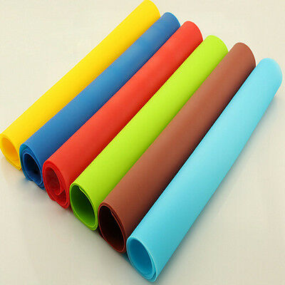 Silicone Table Heat Resistant Mat Cup Coaster Cushion Placemat Pad 3 Color Pads