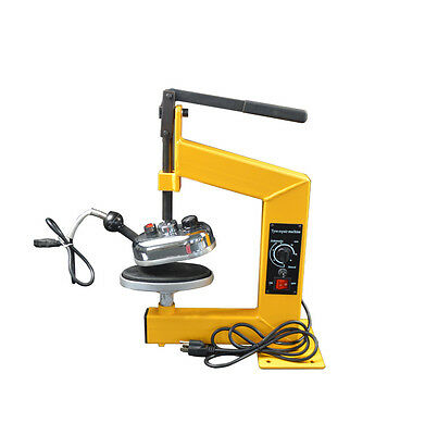 Tire Tyre Puncture Repair Tool Kit Lever Punch Vulcanizing Machine for Sidewall