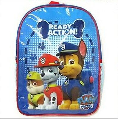 Nickelodeon Paw Patrol Ready for Action Backpack Bag Drink Bottle Holder Pouch